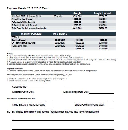 Ferry View Park Booking form - PDF
